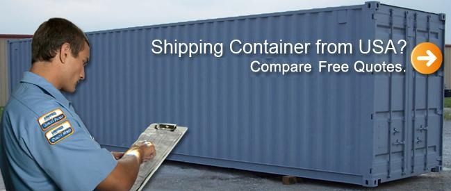 shipping containers from USA